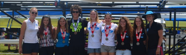 All Sculling States medalists 2014